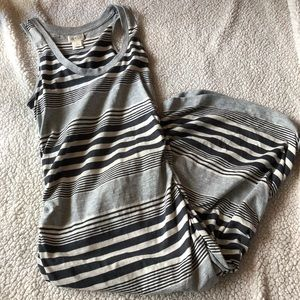 Converse striped dress